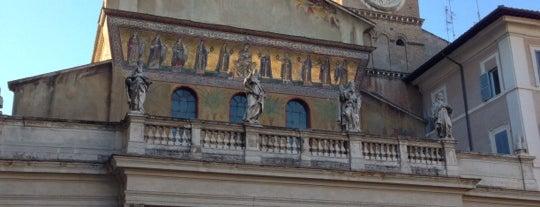 Basilica di Santa Maria in Trastevere is one of My Rome ToDo List.