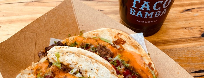 Taco Bamba is one of Lunch X Dinner.