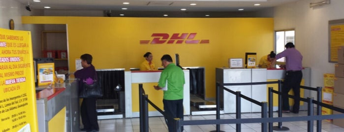 DHL Express is one of สถานที่ที่ Marisela ถูกใจ.