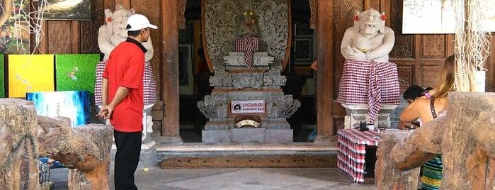 Painting studio (muji art family) is one of Enjoy Bali Ubud.