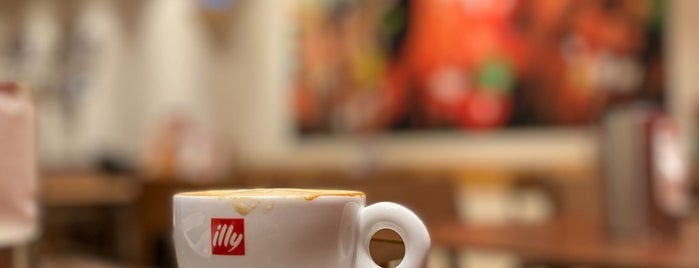 illy Caffè is one of Locais salvos de Fatema.