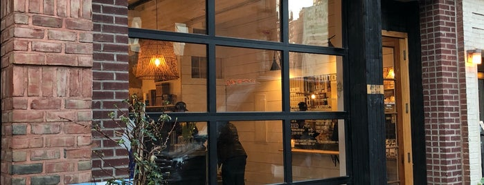 Hutch and Waldo is one of New York's Best Coffee Shops - Manhattan.