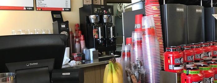 Dazbog Coffee is one of Orte, die Katherine gefallen.