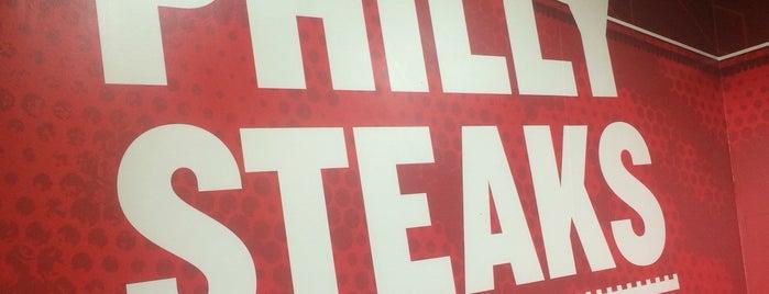 Charleys Philly Steaks is one of Roman : понравившиеся места.