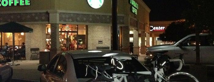 Starbucks is one of mark (Jason) 님이 좋아한 장소.