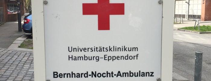 Bernhard-Nocht-Institut für Tropenmedizin is one of สถานที่ที่ Daniel ถูกใจ.