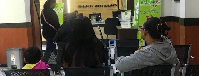 Pengadilan Agama Surabaya is one of Government of Surabaya and East Java.