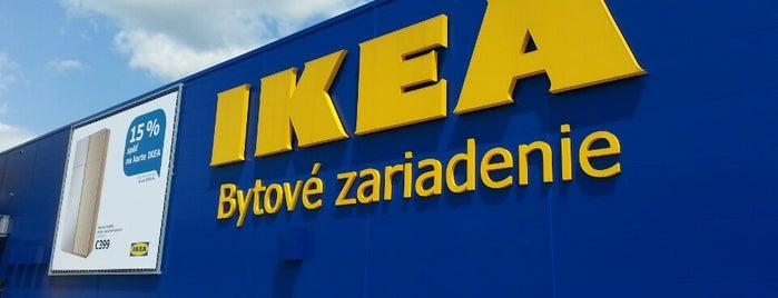 IKEA is one of Lieux qui ont plu à Peter.