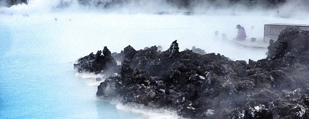 Bláa lónið (Blue Lagoon) is one of Islandia 2014.