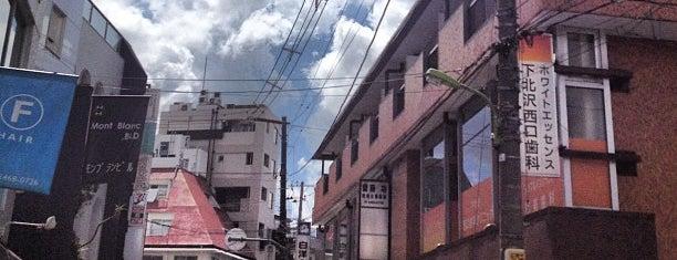 Shimo-Kitazawa Station is one of せたがや百景 100 famous views of Setagaya.