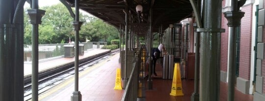 Walt Disney World Railroad - Main Street Station is one of Walt Disney World.