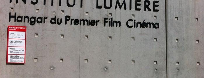 Institut Lumière – Hangar du Premier Film is one of Lyon, France.