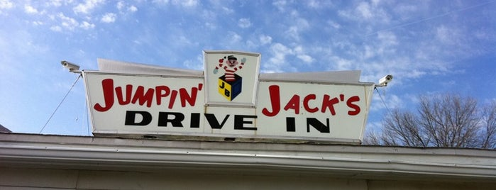 Jumpin' Jacks Drive-In is one of America's Best Hot Dog Joints.