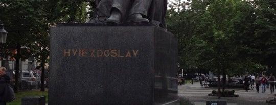 Hviezdoslavovo námestie is one of visit again.