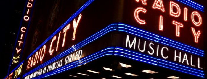 Radio City Music Hall is one of great places.