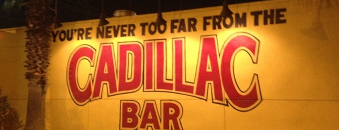 Cadillac Bar is one of Orte, die Amanda gefallen.