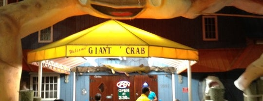Giant Crab Seafood Restaurant is one of Restaurants Myrtle Beach.