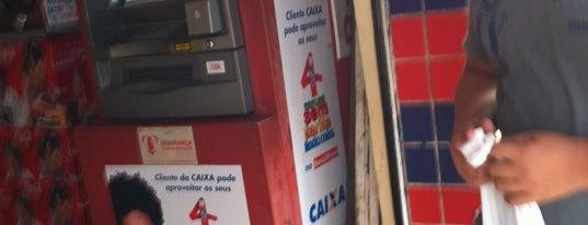 Supermercado Riograndense is one of ATM - Onde encontrar caixas eletrônicos.