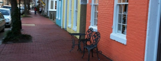 Downtown Fredericksburg is one of Places to go in Fredericksburg, VA.