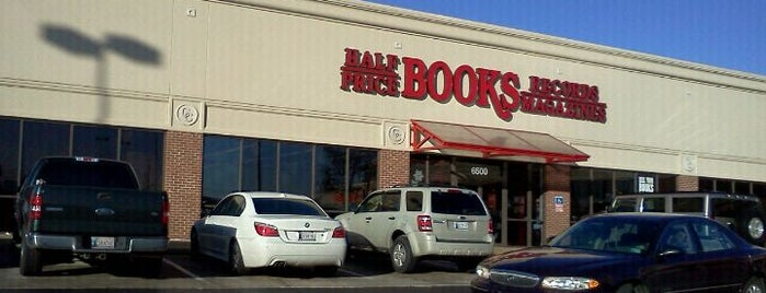 Half Price Books is one of OKC Faves.