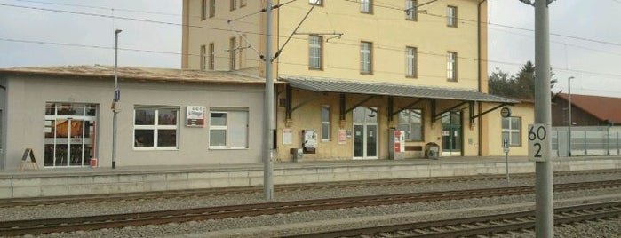 Bahnhof Rohrbach (Ilm) is one of สถานที่ที่ Miguel ถูกใจ.
