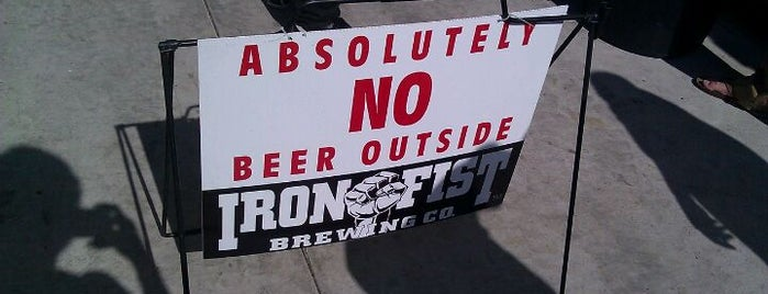 Iron Fist Brewing is one of San Diego.