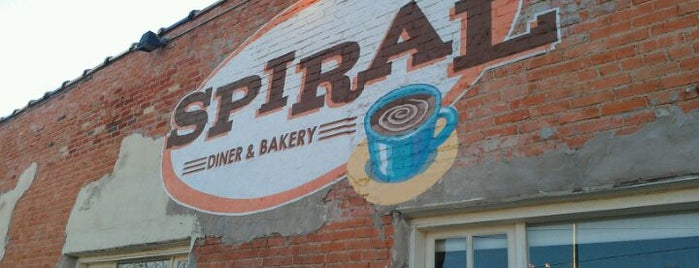Spiral Diner & Bakery is one of * Simply Gr8 Dallas Dining (DFdub General) USA.