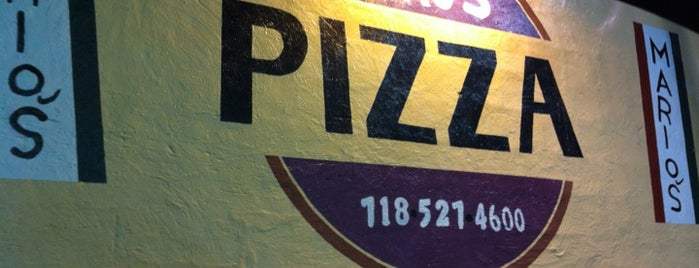 Marios Pizzeria is one of Jordan : понравившиеся места.