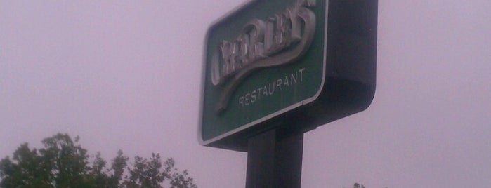 Charley's Restaurant is one of Home is where the heart is....