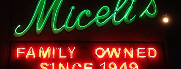 Miceli's Italian Restaurant is one of LA new.