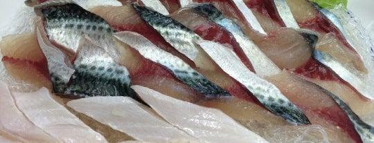 산지물식당 is one of seafood.