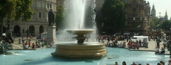 Trafalgar Square is one of London City Guide.