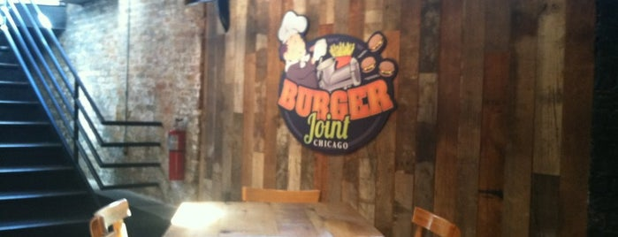 Burger Joint Chicago is one of Orte, die Alysha gefallen.