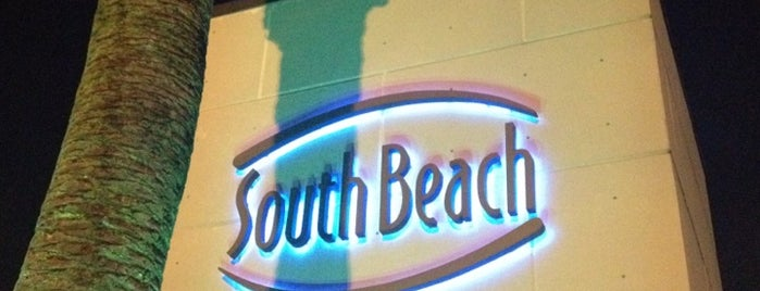 South Beach is one of Houston.