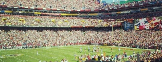 FedEx Field is one of ♡DC.