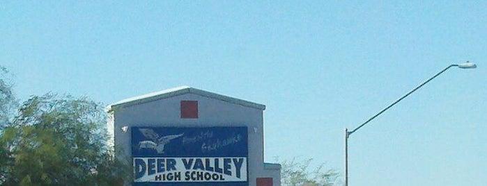 Deer Valley High School is one of Historian.