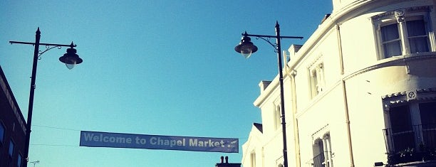 Chapel Market is one of London.