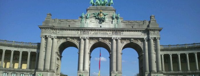 "Jubelpark / Parc du Cinquantenaire is one of Belgium's ""unmissable"" culture spots."