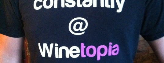 Winetopia is one of Places I want to try out (eateries).