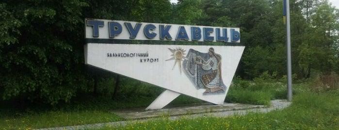 Трускавець / Truskavets is one of Oleksandr'ın Beğendiği Mekanlar.