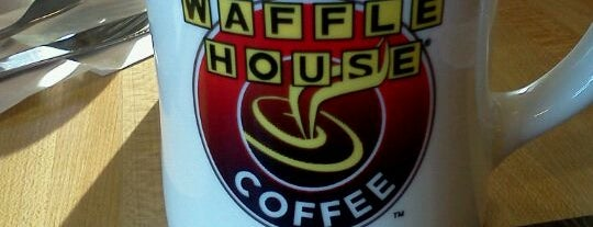 Waffle House is one of Marty mar always love and thanks.