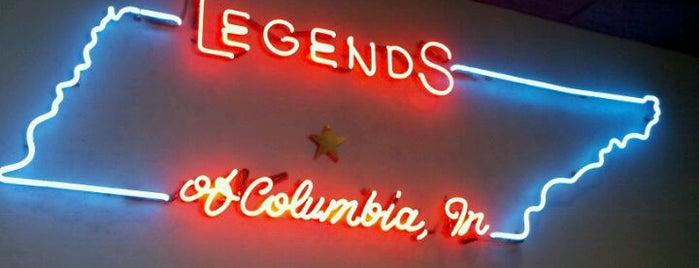 Legends Steakhouse is one of Lieux sauvegardés par Dave.