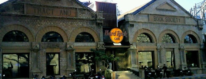 Hard Rock Cafe Bengaluru is one of Matt's Liked Places.