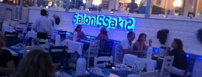 Salonis Sakis is one of İzmir İzmir.