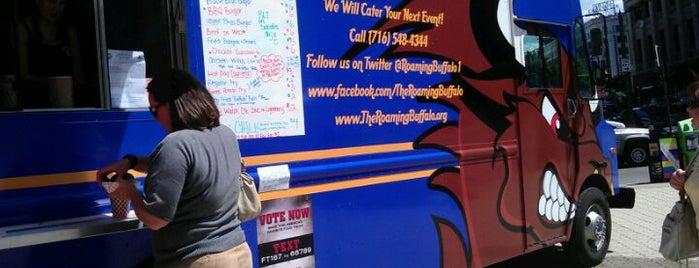 The Roaming Buffalo Food Truck is one of Buffalo : понравившиеся места.
