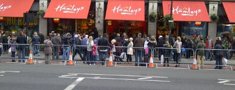 Hamleys is one of London.
