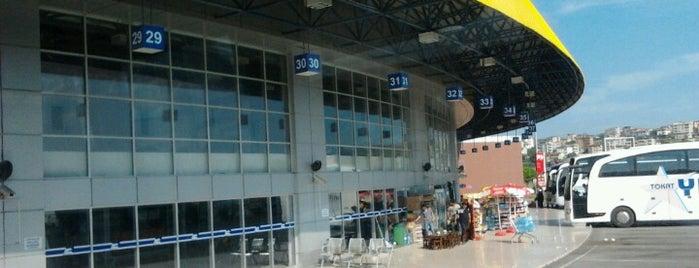 Samsun Şehirler Arası Otobüs Terminali is one of Ay malikanesi.