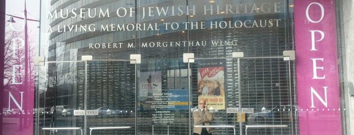 Museum of Jewish Heritage is one of USA NYC MAN FiDi.