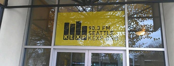 KEXP Studios is one of SEATTLE.