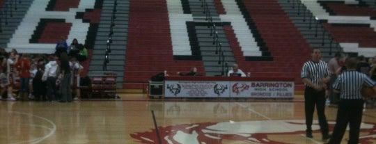Barrington High School is one of High Schools I Referee.